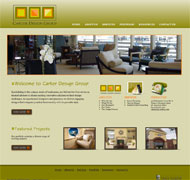 Carter Design Group Website